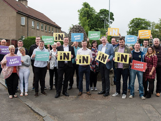 SNP Renfrewshire Call for Remain Vote