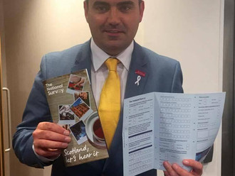 Gavin Newlands MP calls for people to take part in the National Survey