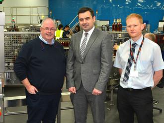 Gavin praises whisky success for Renfrewshire and Scotland