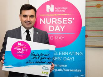 Gavin Newlands MP celebrates Nurses' Day 2018