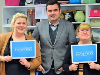Gavin backs small businesses across Renfrewshire