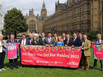 Scottish politicians unite around Paisley 2021