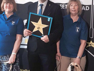 Gavin backs Guide Dogs' pavement parking campaign