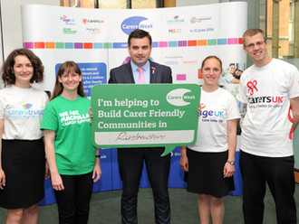 Local MP Gavin Newlands pledges support to help create Carer Friendly Communites in Renfrewshire for