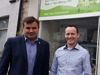 Local MP meets energy action group