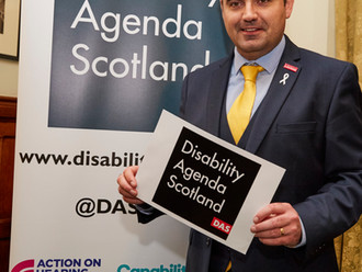 Gavin Newlands MP backs Disability Alliance's call to reduce stigma and discrimination