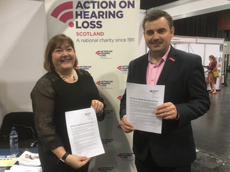 Gavin Newlands MP joins charity's call for deaf Renfrewshire residents to share views of health