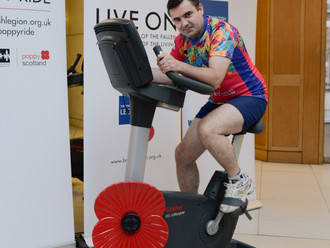 Gavin Newlands MP Raced Against Service Personnel in Support of The Royal British Legion's Annual Po