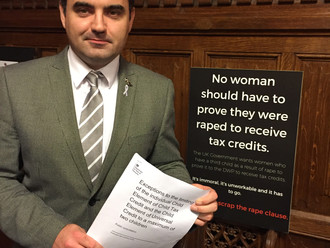 Gavin Newlands MP calls for public response on rape clause policy