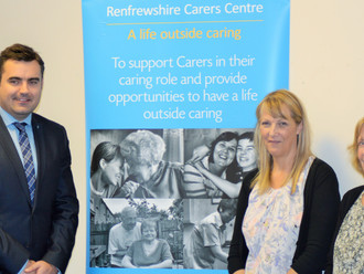 Gavin celebrates carers and calls for an end to cuts