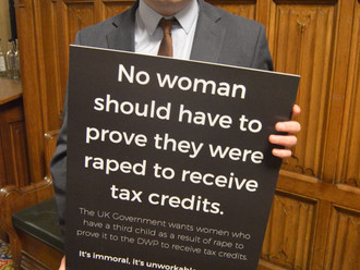 Gavin Newlands MP challenges Tory politicians on the 'poisonous' Rape Clause