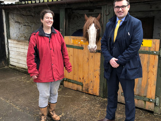 Gavin Newlands MP visits Lamont Farm