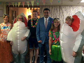 Gavin Newlands MP celebrates Care Home Open Day with Kyle Court Care Home
