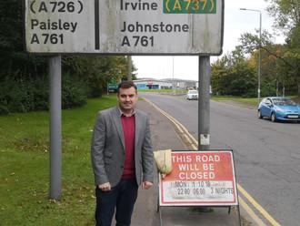 Gavin Newlands MP Ensures Safe Crossing for Kids