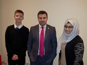 Gavin Newlands MP supports MSYPs' student ticket campaign