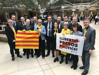NEWLANDS HITS OUT AT UK GOVERNMENT OVER FAILURE TO CHALLENGE CATALAN 'SHOW TRIAL'