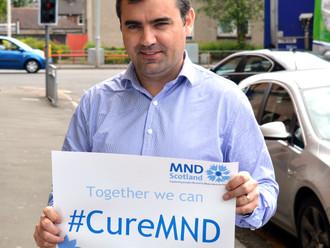 Gavin Newlands MP backs MND Scotland's fight to Cure MND