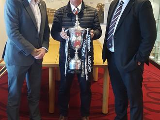 Gavin Newlands meets with St Mirren FC