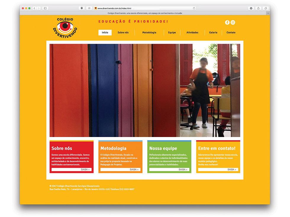 Peltier DSGÑ - Peltier Design - Branding - Colégio Divertivendo