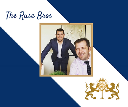 Josh and Jake Ruse, Top Notch Properties, The Ruse Bros Team