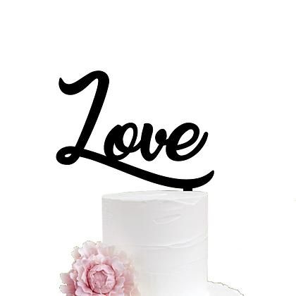 Cake Topper > Love
