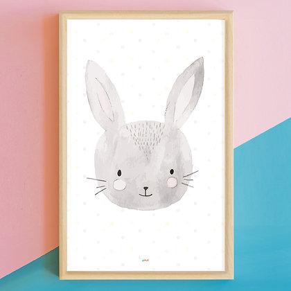 Prints> Conejo Acuarela