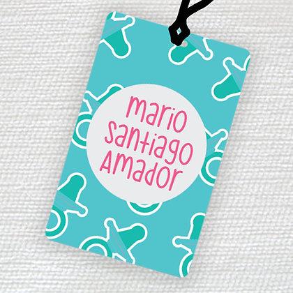 Name Tag > Bebé Niño