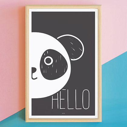 Prints> Hello Panda