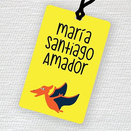 Name Tag > Pterodáctilo