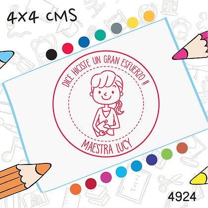 Maestra 9>4x4 cms