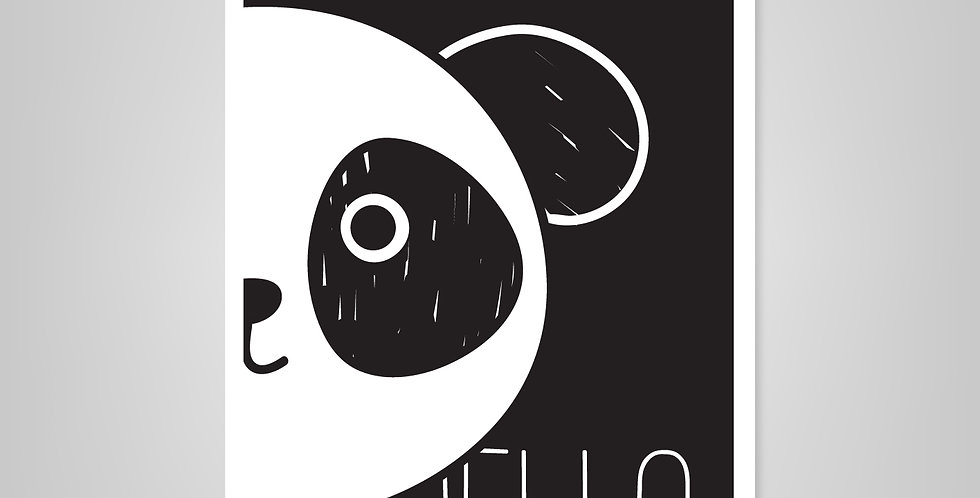 Prints A19> Hello Panda