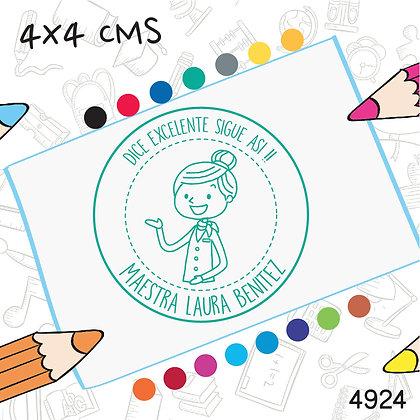 Maestra 10>4x4 cms
