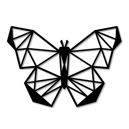 Mariposa> Figura madera