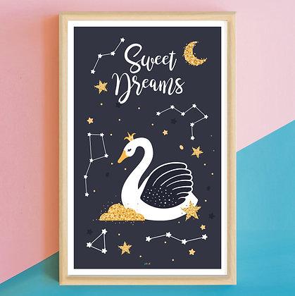 Prints> Sweet Dreams Cisne