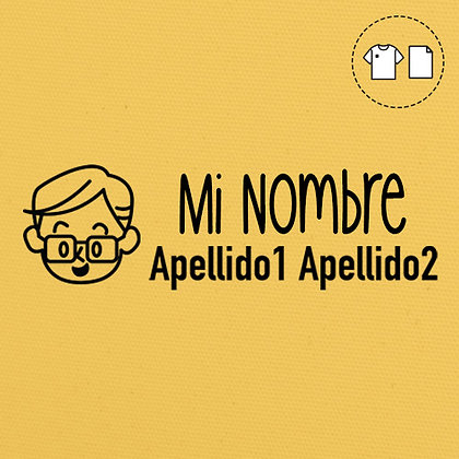 Sello Ropa y Papel >Pepe