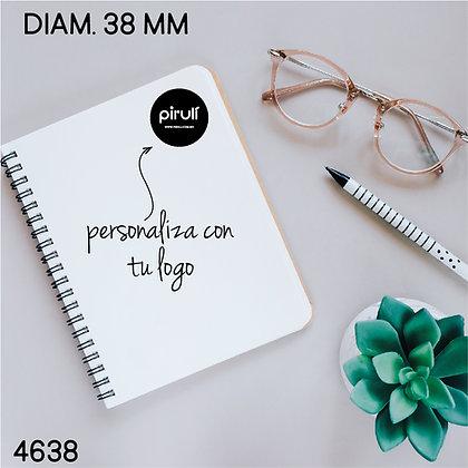 Sellos PAPEL 4638> DIAM. 3.8  cms