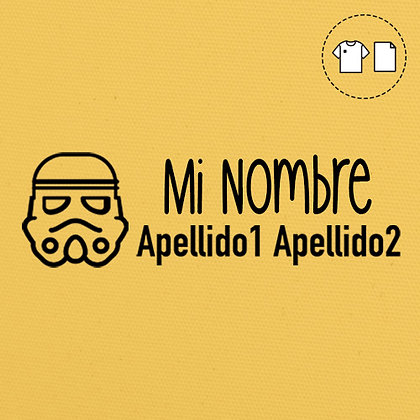Sello Ropa y Papel >Troopy
