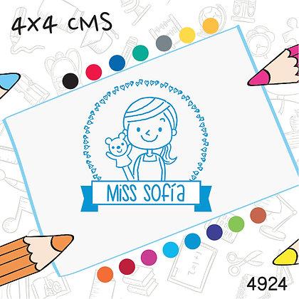 Maestra 5>4x4 cms