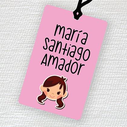 Name Tag > Niña
