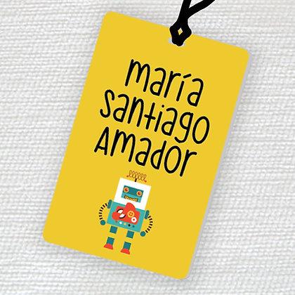 Name Tag > Robot