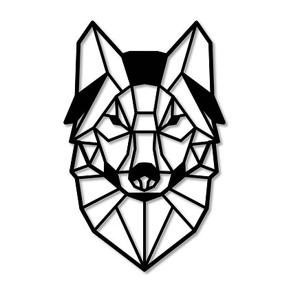 Lobo> Figura madera