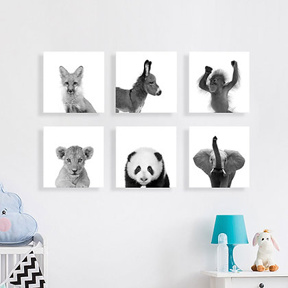 Canvas > Animales B&W