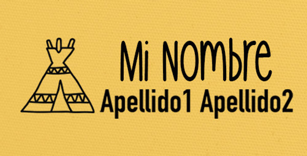 Sello Ropa y Papel >tipi