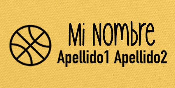 Sello Ropa y Papel >Basquet