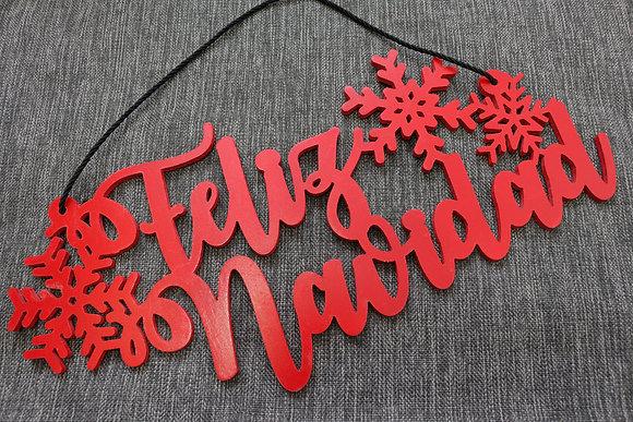 Letrero > Feliz Navidad / Merry Christmas