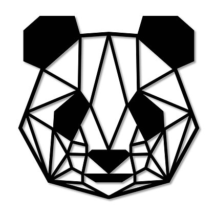 Panda> Figura madera