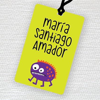 Name Tag > Monstruo