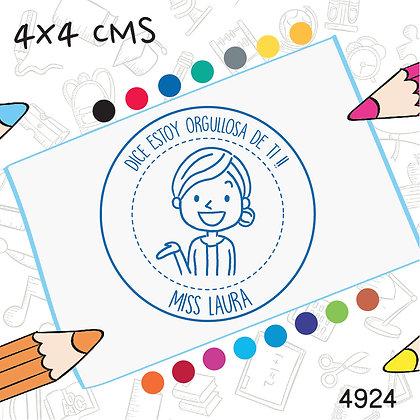 Maestra 6>4x4 cms