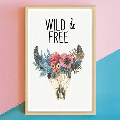 Prints > Wild&Free Acuarela