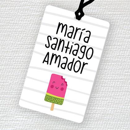 Name Tag > Paleta Sandia